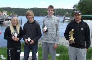 Karoline Ekenes, Tom Inge Beck, Bjørn Rino Ekenes og Henrik Valle
