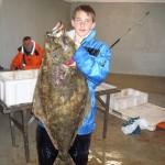 Vegard Godberg - Kveite på 16,82 kilo